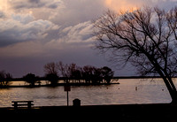 Willow Grove Park after the storm